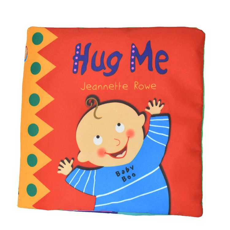 "Baby ring paper safety mirror cloth book ""Hug Me"" baby educational toys book-w221 - Online Store 527385 store"