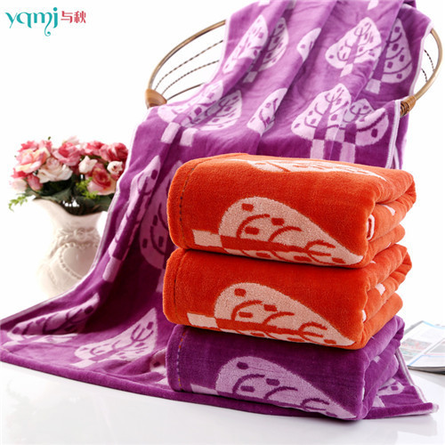 2015 new 140cm * 70cm 100% cotton children printed Trees bath towel brand bathroom adult beach towel bamboo gift(China (Mainland))