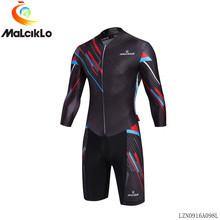 Buy MALCIKLO custom men maillot cycling jersey long sleeve Geometric patterns triathlon skinsuit fahrradtrikot mtb ohio state jersey for $30.90 in AliExpress store