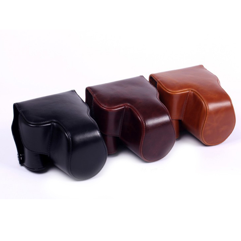 Good Quality PU Leather Camera Cover Case For Nikon P520 Full Protection Camera Bag