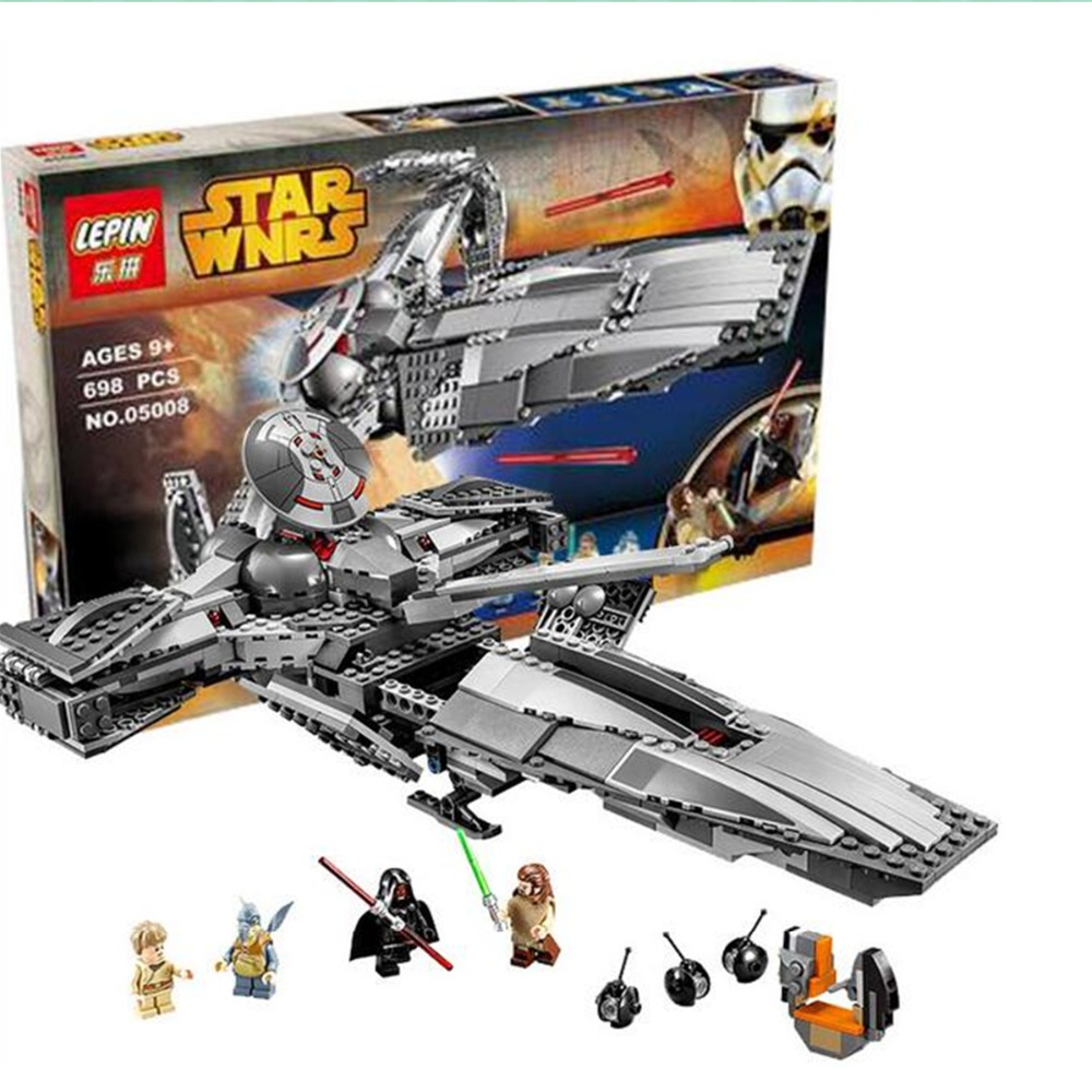 2016 New 698Pcs The Force Awakens Sith Infiltrator STAR WARS Building Block Darth Margus Compatible With LEGO Star Wars Toys<br><br>Aliexpress