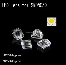 Buy 100pcs LED 5050 lens streak high PMMA 7.6*7.6mm convex optical lens Reflector Collimator 30*60 60*90degree led lens for $4.74 in AliExpress store