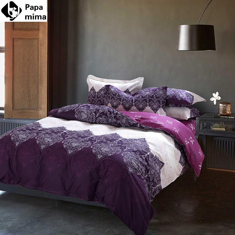 Buy unique light purple bedding set 4pcs - Light purple comforter set ...