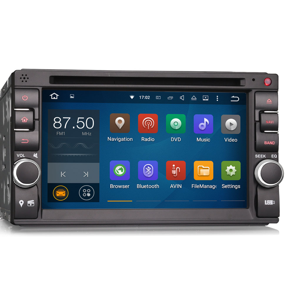 "6.2"" Quad-Core Android 5.1.1 Double Din Car DVD 2 Din Car Radio Two Din Car Navigation GPS with External DAB+ Tuner Box Support(China (Mainland))"