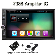 Bonroad  Android 7'' Double 2Din Car Radio GPS Universal without dvd car Audio 2 din 7 inch car Stereo auto  Navigator(China (Mainland))