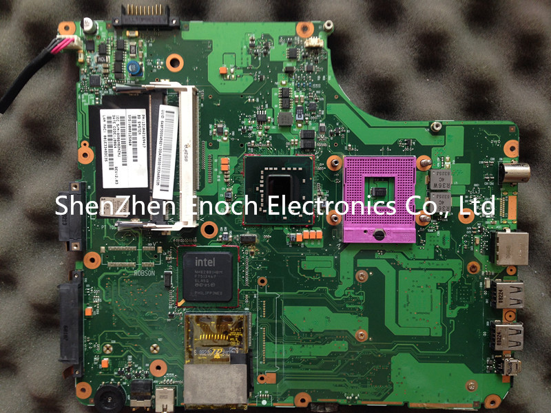 For Toshiba Satellite A300 A305 motherboard ,965GM IDE DVD PT10S-6050A2169401-MB-A02 60 days warranty(China (Mainland))