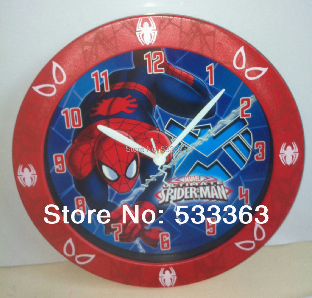 Spiderman wall clock image collections home wall decoration ideas childrens official character wall clocks spiderman avengers childrens official character wall clocks spiderman avengers batman amipublicfo amipublicfo Images