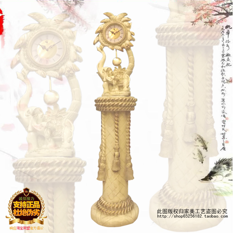 European Art Decoration Home Decorations Grandfather Clock Mute Grandfather Clock To Do The Old