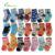 Free Shipping ( 10 pairs/lot ) 100% Cotton Baby Socks Rubber Slip-resistant Floor Socks Cartoon Small Kid's Cotton Socks TW002