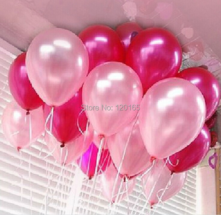 100pce/pack Latex balloons 10'' Round pearl balloon arches balloon Party Wedding Decoration balloons Hot sales Wholesale(China (Mainland))