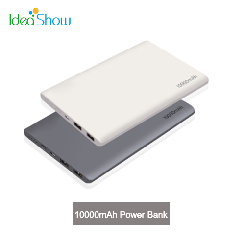 KQP K58 10000mAh USB External Backup Powers Power Bank Mobile Phone Universal Battery Pack Chargers for iPhone 6 Note 3 Mate 7(China (Mainland))