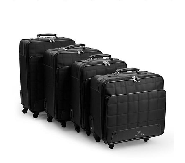 """Nylon 16""""18""""20""""22""""inch carry on suitcase boarding rolling luggage bag on wheels with lock(China (Mainland))"""