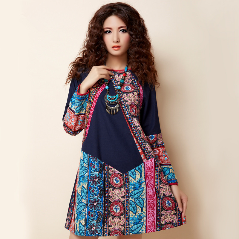 Boho Chic Plus Size Women's Clothing BOHOCHIC Vintage National