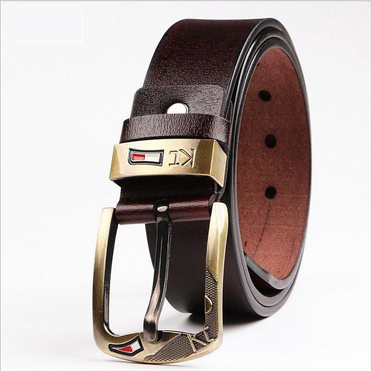 leisure genuine leather designer belts for men jeans mens belts luxury