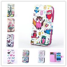 Original Fashion Tower Owl Flip Leather Wallet phone Cases for Samsung Galaxy S3 Neo GT- i9301/SIII Duo I9300i +free Screen film(China (Mainland))