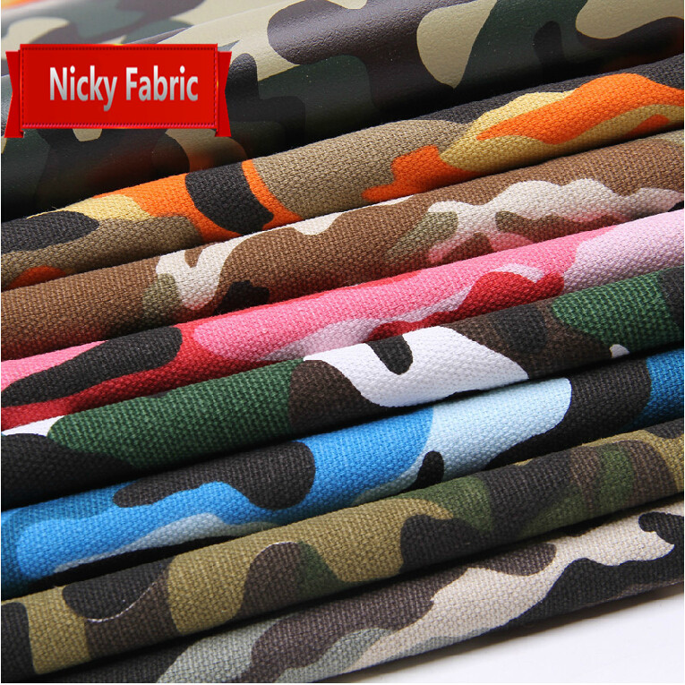 Faux Leather Fabrics Synthetic Camouflage Leather PVC Artificial Leather Cloth for sewing material High Quality Hide Wholesale(China (Mainland))