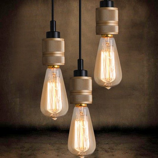 Edison Bulb Loft Style Industrial Wind Vintage Pendant Light Fixtures For Dining Room Bar Hanging Lamp Lamparas Colgantes<br><br>Aliexpress