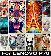 Горячая распродажа окрашенные цветастый стиль дизайн пластиковых пк сотовый телефон защитника оболочки жесткий чехол для Lenovo р70 P70T телефон чехол