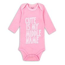 Newborn Baby Clothing Baby Boys Girls Clothes 100% Cotton Baby Bodysuit Long Sleeve Infant Jumpsuit 2018 New Fashion(China)
