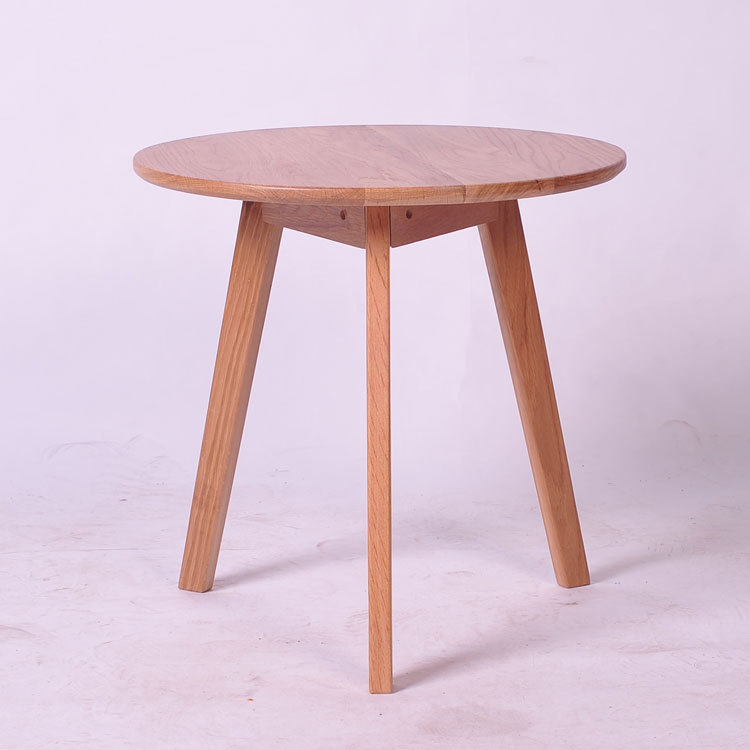 korean japanese style small round table wood coffee table