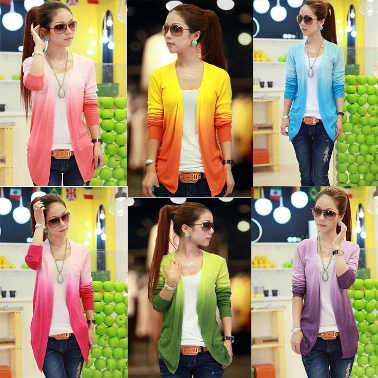 Tops ! 2013 Women Lace Sweet Candy Color Crochet Knit Top Thin Blouse Women Sweater Cardigan B20 NZ045(China (Mainland))