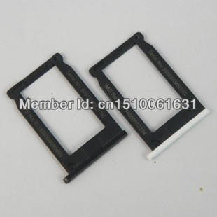 10pcs/lot For Apple iphone 3GS 3G sim card slot tray holder Black/White Free shipping(China (Mainland))