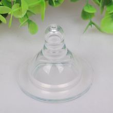 New Baby Silicone Wide-Mouth Round Cross Hole Breast Milk Feeling Nipple 1 PCS(China (Mainland))