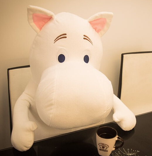 1PCS 23cm Free shipping Genuine Moomin Hippo Plush Toy Stuffed Doll little fertilizer valentine Park Spring bom(China (Mainland))