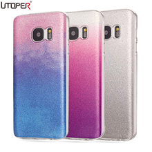 Buy Galaxy S7 Case Silicon Glitter Phone Cover Samsung Galaxy S7 G930A SM-G9300 Cases Luxury Soft TPU Back Shiny Fundas Bags for $2.61 in AliExpress store