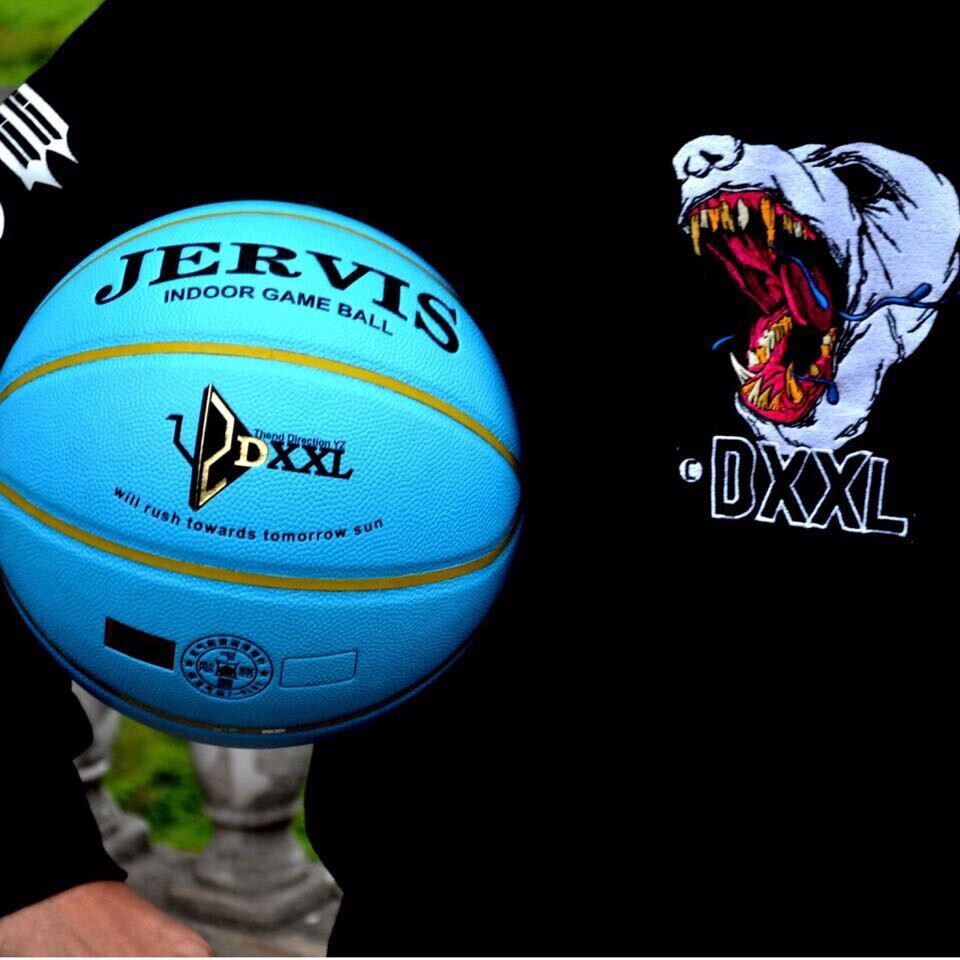 New DXXL JERVIS Basketball ball Breast cancer Pink& Blue Basketball indoor outdoor Particle slip basketball free shipping(China (Mainland))