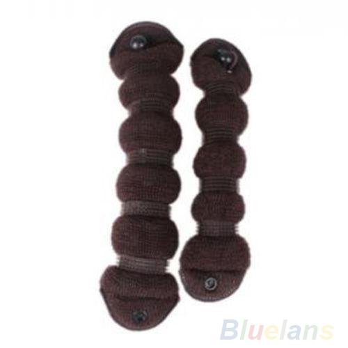 2 pçs/set cabelo elegante magia estilo Bun criador penteado Updo DIY Styling ferramenta 0C5D