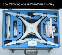 DJI phantom 3/4 standard High quality aluminium case protection for DJI 3 Phantom Quadcopter RC Helicopter Aerial FPV trolley(China (Mainland))