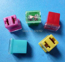 20PCS Car Straight Female Terminals Link PAL Fuse Blade Fuses 20A 30A 40A 50A 60A n-line Lighter-Shape for Truck Boat Auto(China (Mainland))