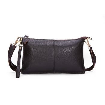 2015 Высокое качество 100% натуральной кожи коровьей конверт женщины клатч вечерние сумки ну вечеринку сумки креста тело плеча