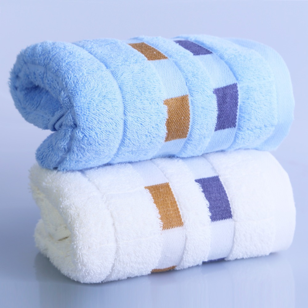 34x75cm/13.4x29.5'' Face Towel 100% Cotton Hand Towel Brand Gift Quick-Dry 1PCS/Lot(China (Mainland))