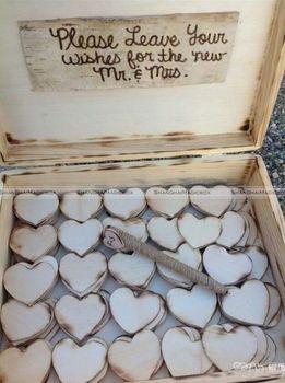 50pcs 5cm Wooden Love Heart Art Wedding Card Making Scrap Booking Baby Wood Heart Only SMB 41115313