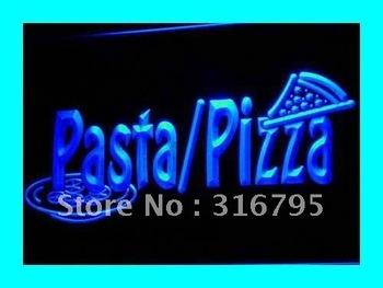 i136-b Pizza Pasta Shop Cafe Slice Bar LED Neon Light Sign