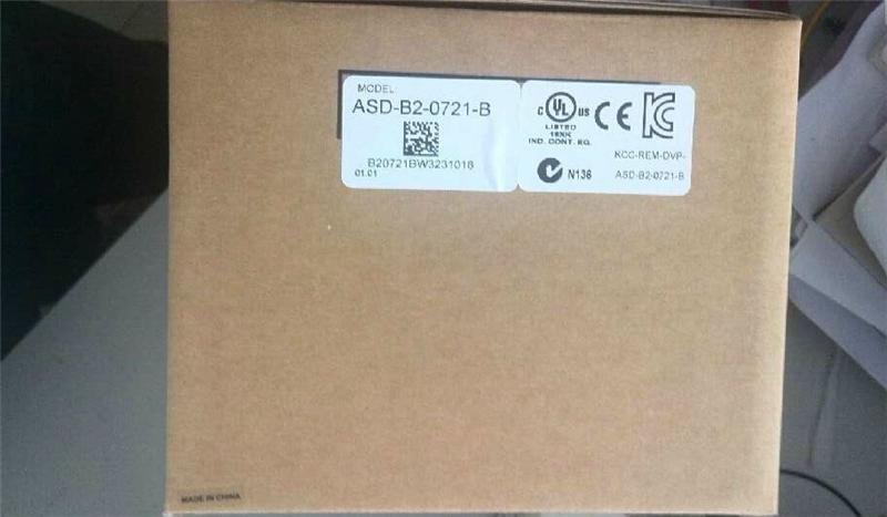 ASD-B2-0721-B Detla AC Sevor Drive 1ph 220V 750W 5.1A New<br><br>Aliexpress