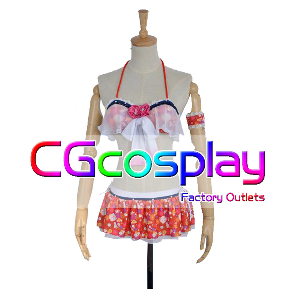 Free Shipping Cosplay Costume Love Live ! Nico Yazawa Swimsuit New in Stock Retail/Wholesale Halloween Christmas PartyОдежда и ак�е��уары<br><br><br>Aliexpress