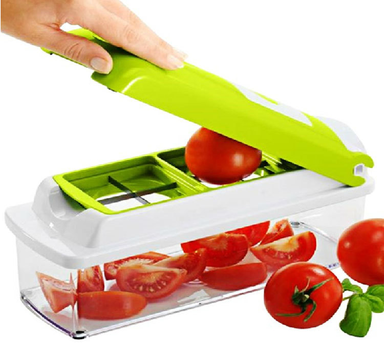 Multi Function Cutting Tool Kitchen Supplies 12 Sets Vegetable Fruit Cutter Chopper Potato Cut Onion Tools Fruit Vegetable Tools(China (Mainland))