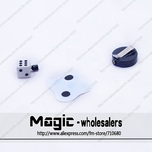 Beifang Magic magic dice Reel Flatten GagDice Magic Tricks
