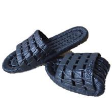 Vente chaude D'été Hommes Chaussures découpes Appartements Sandales Non-slip de Bain De Massage À Domicile Pantoufles(China (Mainland))