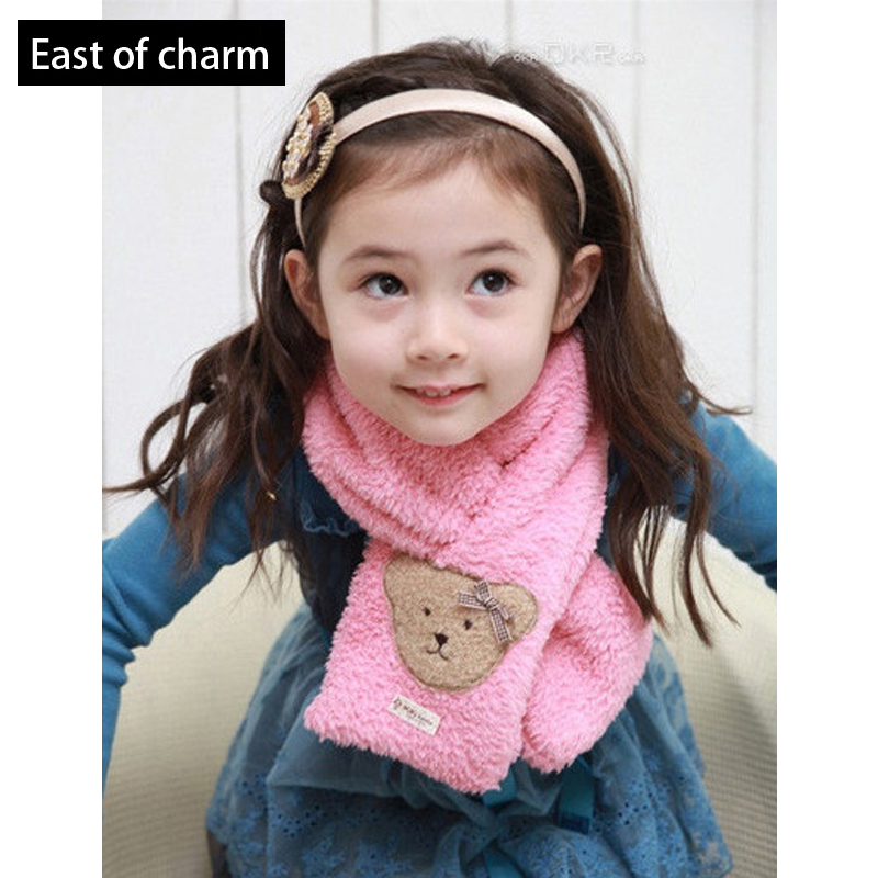 Hot Sale!! New Winter Warm Knit Baby Scarf Child Scarf So Cute Cubs Cotton Kid Scarf Neck Warmer Wholesale/Retail High Quality(China (Mainland))