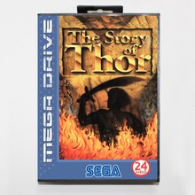 Buy 16 bit Sega MD game Cartridge with Retail box Beyond Oasis (aka The Story of Thor) game card for Megadrive Genesis system for $14.90 in AliExpress store