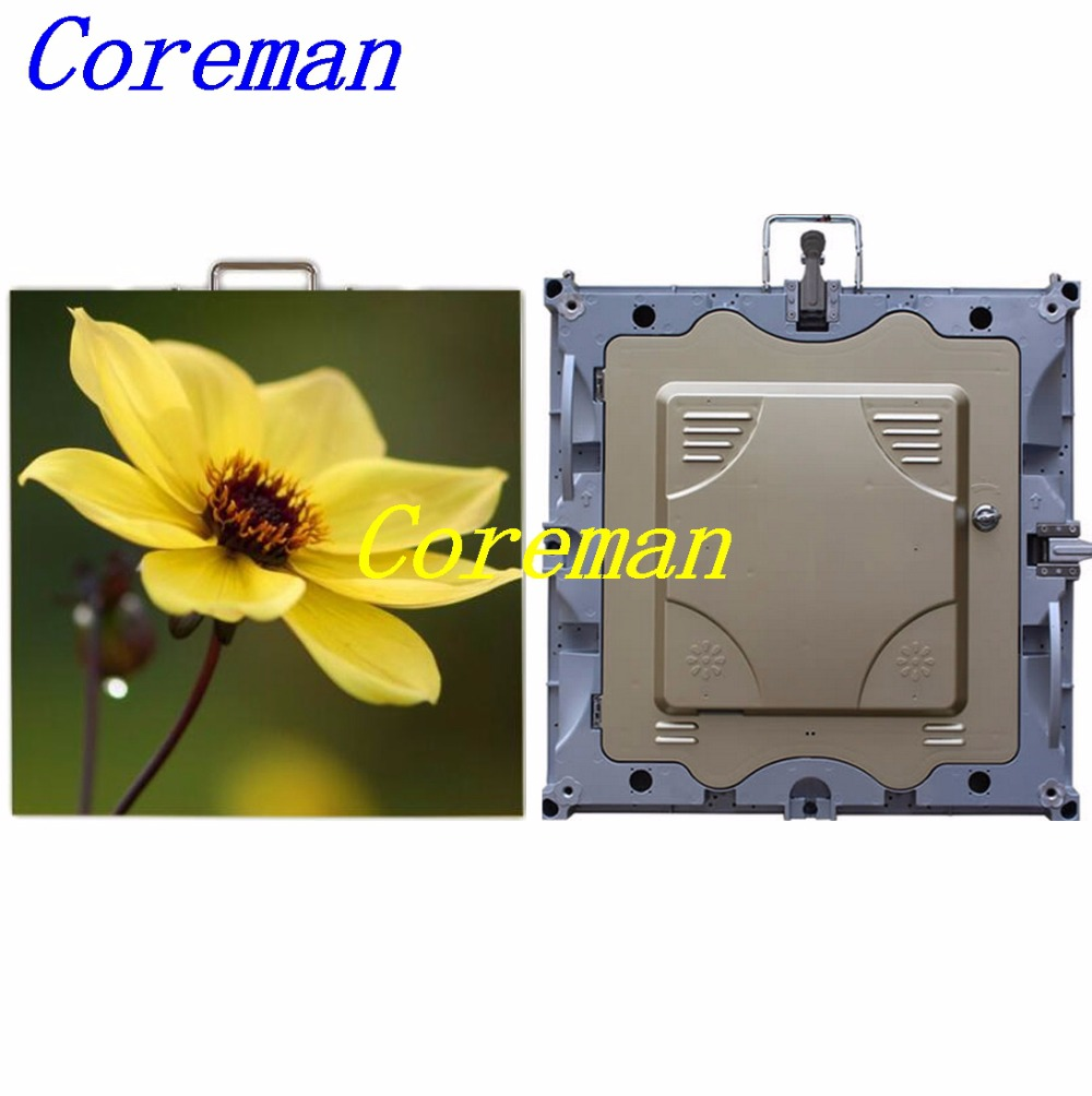 Coreman P3 P4 P5 P6 P8 P10 rental led display video wall screen with die casting cabinet P6 stage led screen 576X576mm(China (Mainland))
