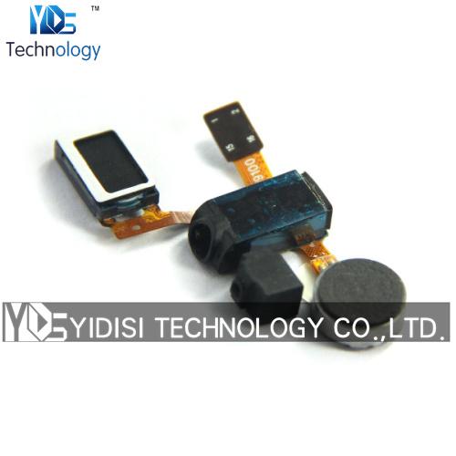5PCS/LOT Original for Samsung Galaxy S2 S II i9100 Earpiece Audio Jack Speaker Vibrator Flex Cable Ribbon Replacement