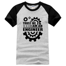 Buy Trust Am Engineer 2017 summer fashion Men's 100% cotton t-shirt o-neck Male harajuku casual brand tops short sleeve men for $6.88 in AliExpress store
