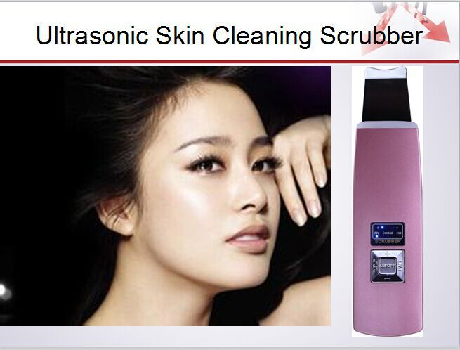 HOT! Deeply skin pore cleansing device blackhead removal Device Peeling shovel machine face exfoliator deeply clean the skin(China (Mainland))