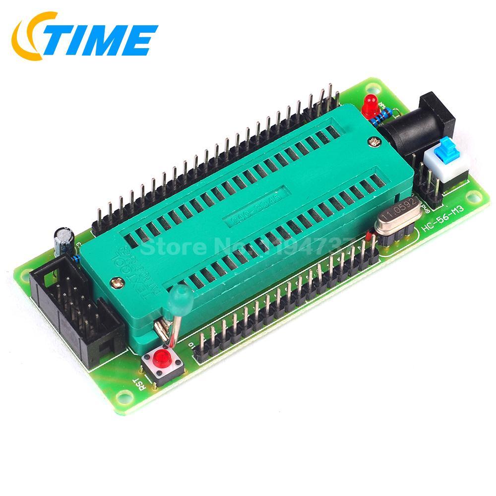 1PCS 51 AVR MCU Minimum System Board Development Board Learning Board STC Minimum System Board Microcontroller Programmer(China (Mainland))