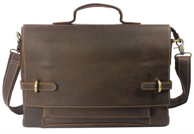 Старинные crazy-лошадь натуральной кожи сумка мужчины кожаные сумки на ремне мужчины ...